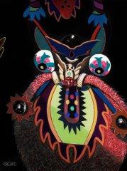"""The Enigma"" - Soft Pastel on Sandpaper"